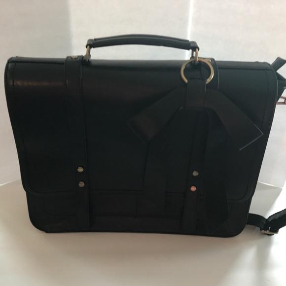 Ecosusi Handbags - Ecosusi Black Laptop Bag